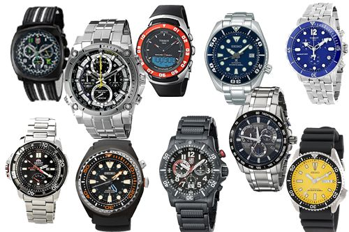 Top 10 Best Dive Watches Under 500 For Men Review Best Divers Watch