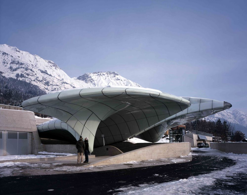 The Nordkettenbahnen funicular Zaha Hadid Architects