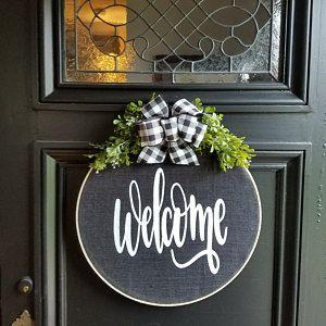 Photo of Spring Wreaths for Front Door, Wreaths for Front Door, Spring Wreaths, Spring Peony Wreath, Lambs Ear, Spring Wreath, Front Door Wreath
