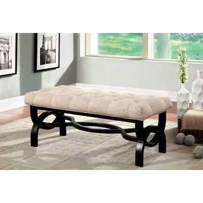 Emellie Upholstered Bench Furniture Upholstered Bench Small Upholstered Bench