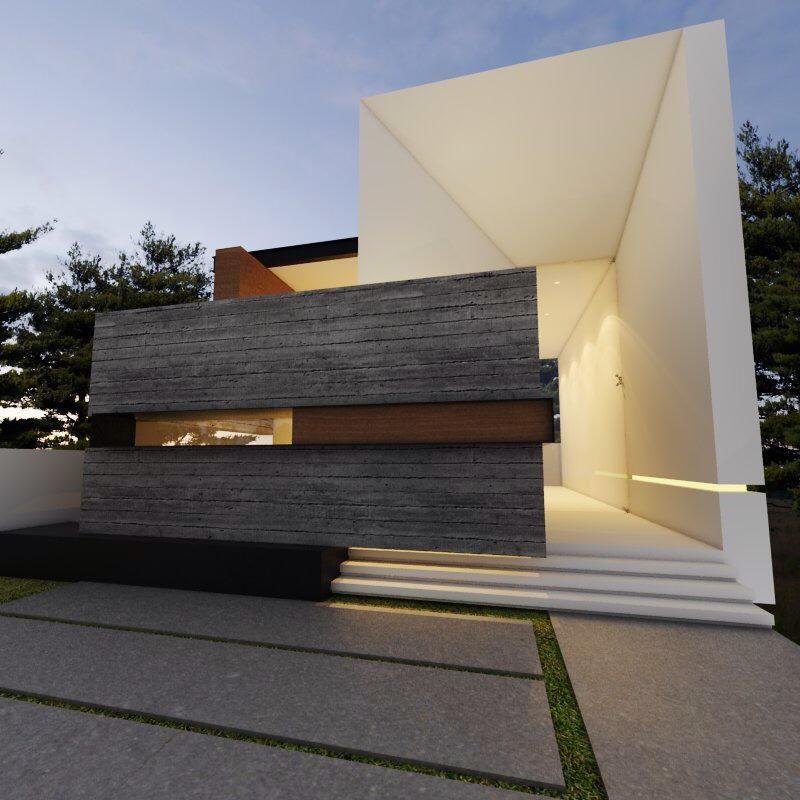 GUADALAJARA JAL #FACHADAS #CONTEMPORANEO CREATO ARQUITECTOS House - fachadas contemporaneas