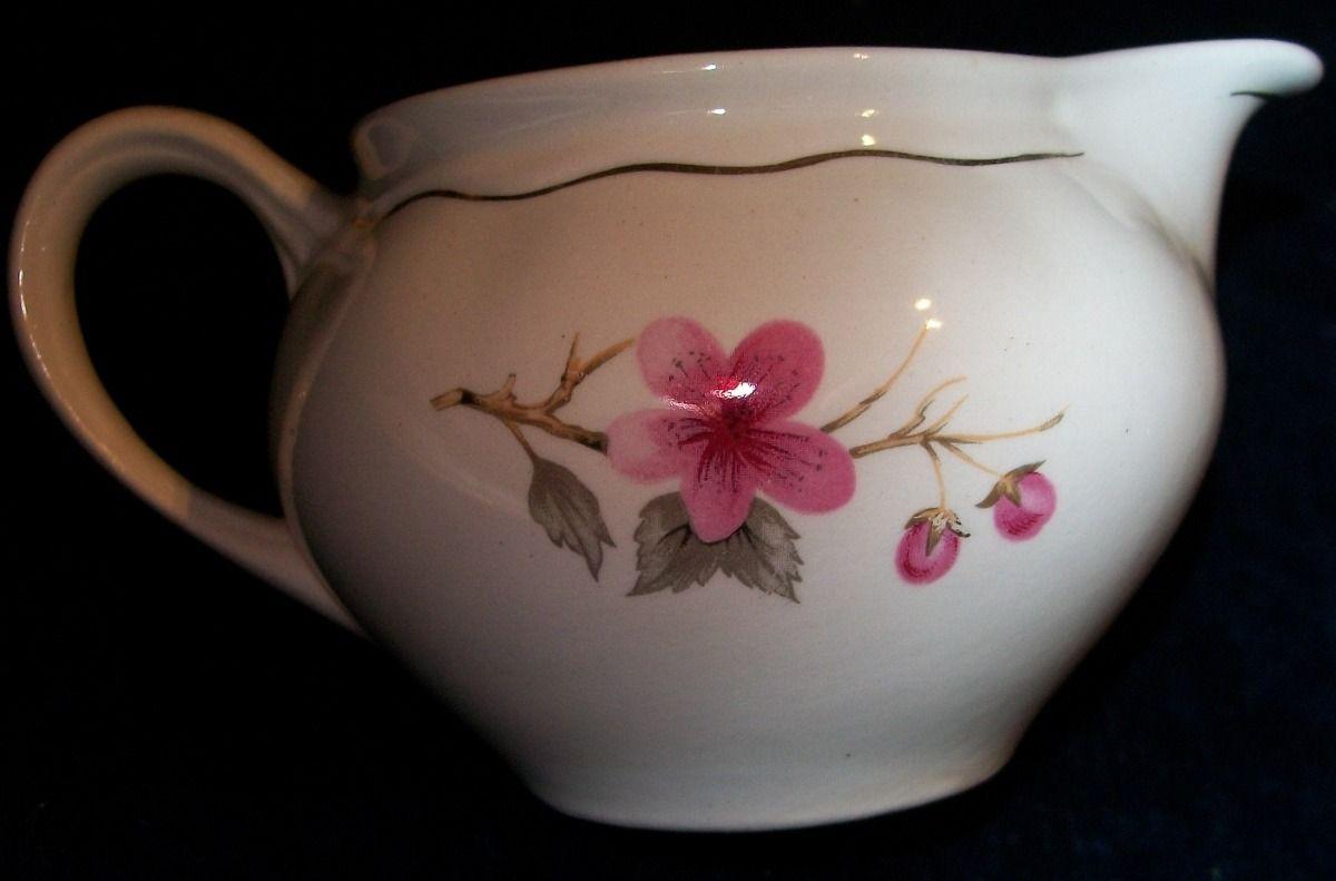 Lechera Porcelana Flores Y Dorado - De Colección - Antigüa - $ 200,00 en MercadoLibre