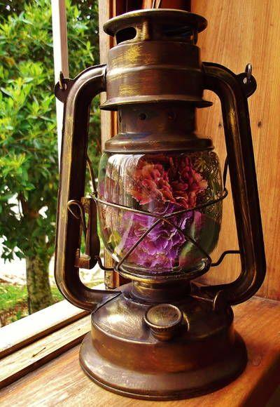 Lampião Floral