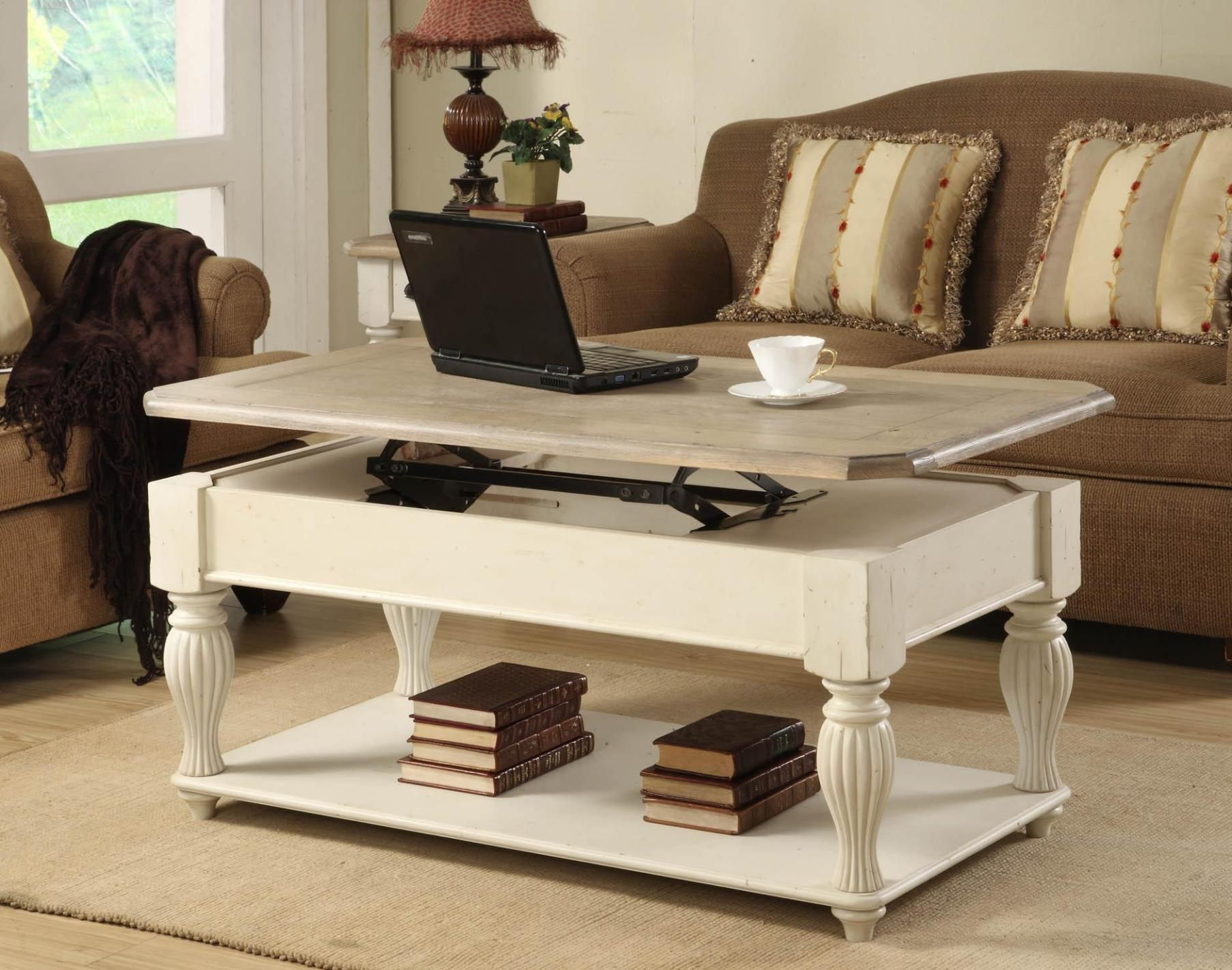 Unique Adjustable Coffee Table For Modern Living Room Furniture Design Adjustable Heig With Images Coffee Table Rectangle Sofa Table With Storage Living Room Coffee Table