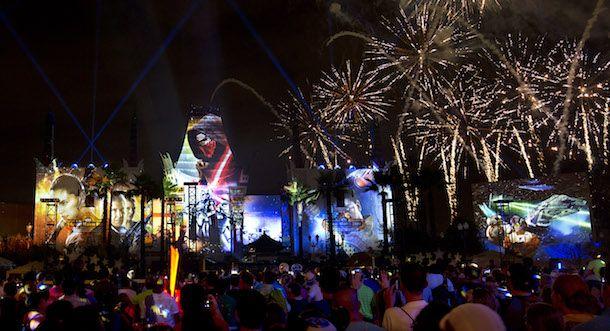 Star Wars a Galactic Spectacular at Disney's Hollywood Studios