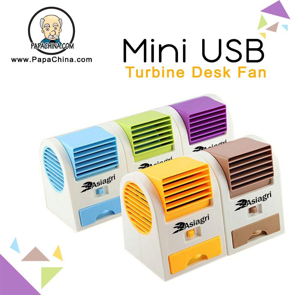 Mini Usb Turbine Desk Fan Desk Fan Usb Direct Marketing