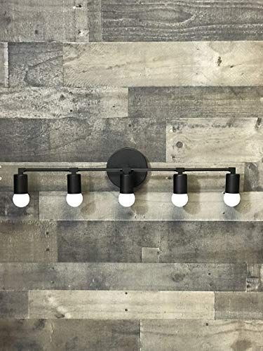 Photo of Bestseller Ares Wall Lamp Matt Black 5 Bulb Vanity Light Fixture Bathroom Lighting Mid Century Modern Fixture Contemporary lighting online – Toplikestylish