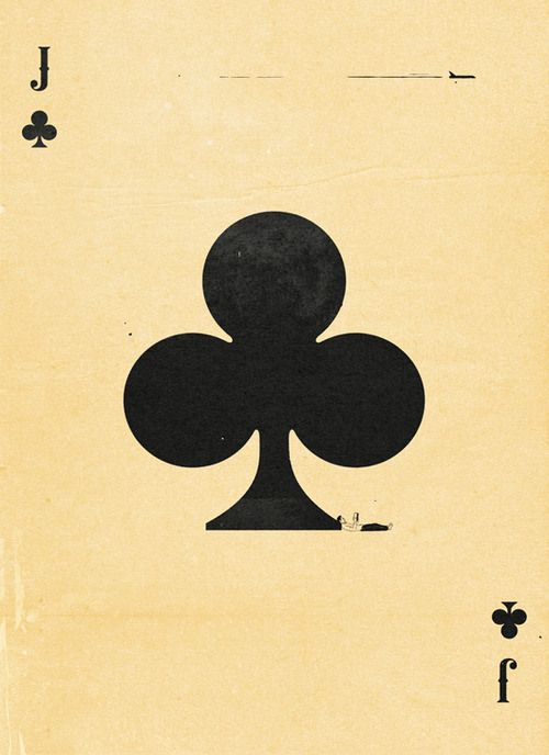 Semi-Transformation Playing Cards by Patrik Svensson: The Jack of Clubs | more here: http://playingcardcollector.net/2015/06/02/semi-transformation-playing-cards-by-patrik-svensson/