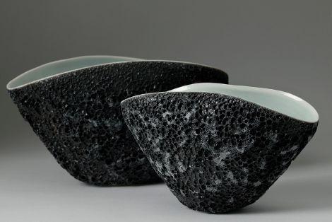 Volcanic Porcelain Bowls 10 Pottery Ceramic Decor