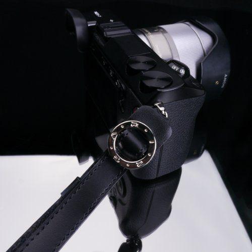 Amazon.com : Gariz Genuine Leather XS-WFSN1 Camera Hand Strap for Mirroless Camera, Black : Camera And Optics Carrying Straps : Camera & Photo