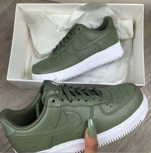 zapatillas verdes mujer nike