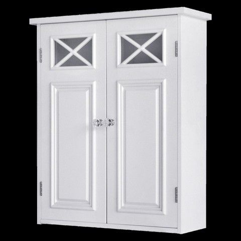 Target Medicine Cabinet Elegant Home Fashions Dawson Wall Cabinet  White  Walls And Toilet