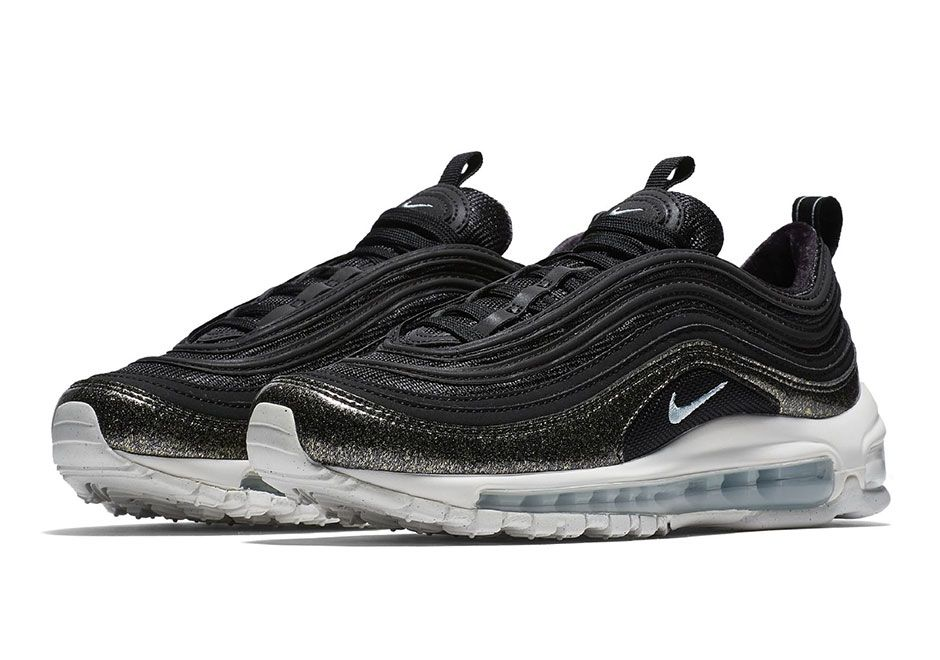 on sale 1b2d1 2dd91 Nike Air Max 97 Black Shimmering Upper | What's Crackin ...