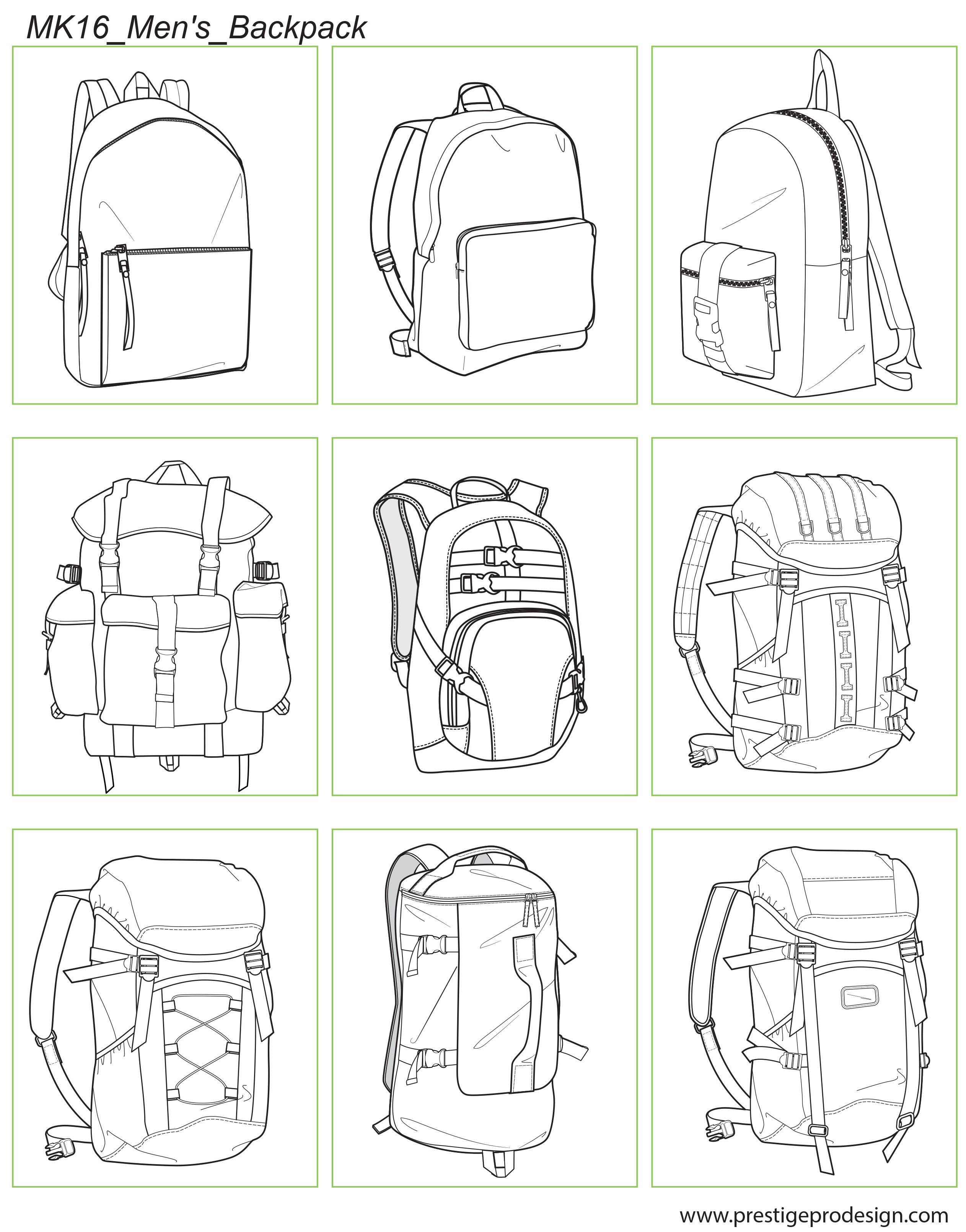 MK16_Men\'s_Backpack | Men\'s backpack | Pinterest | Zeichnen, Ideen ...