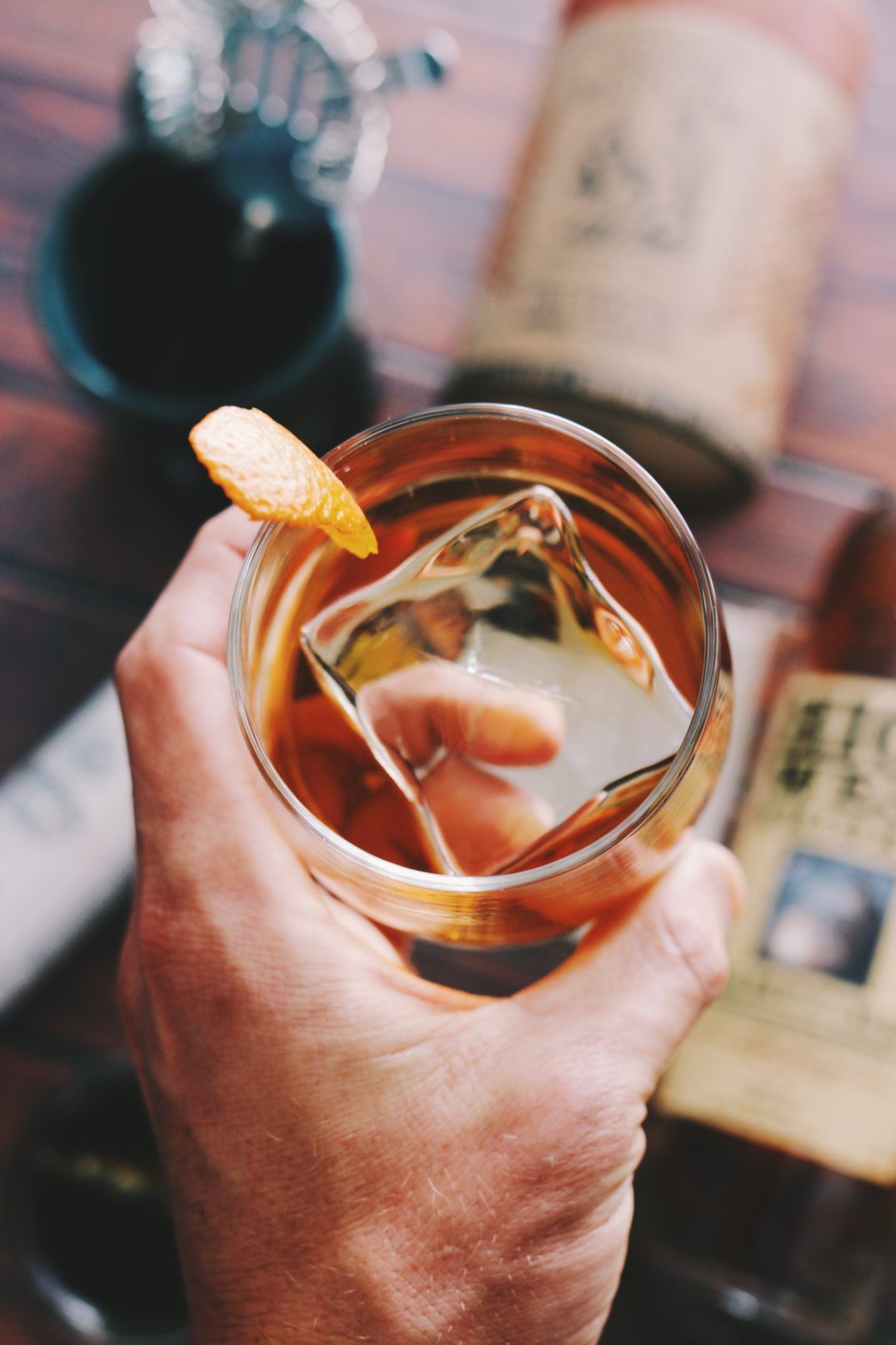 Photo of Smoked Sweet Tea Old Fashioned