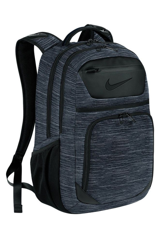 4394c8eb00 NIKE DEPARTURE III BACKPACK 2 Sports Golf Gym Hiking BLACK Navy ADULT  GA0275  Nike  Backpack