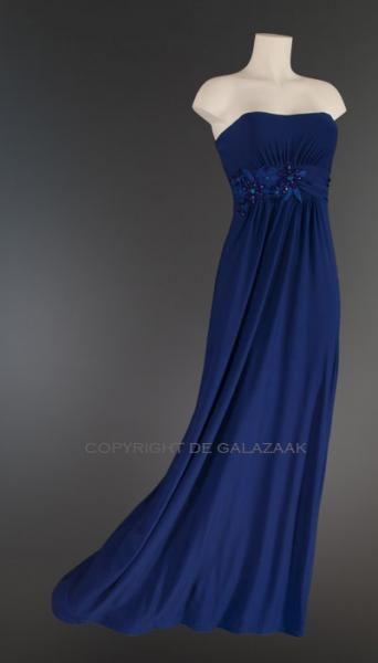 Avondjurk kobaltblauw