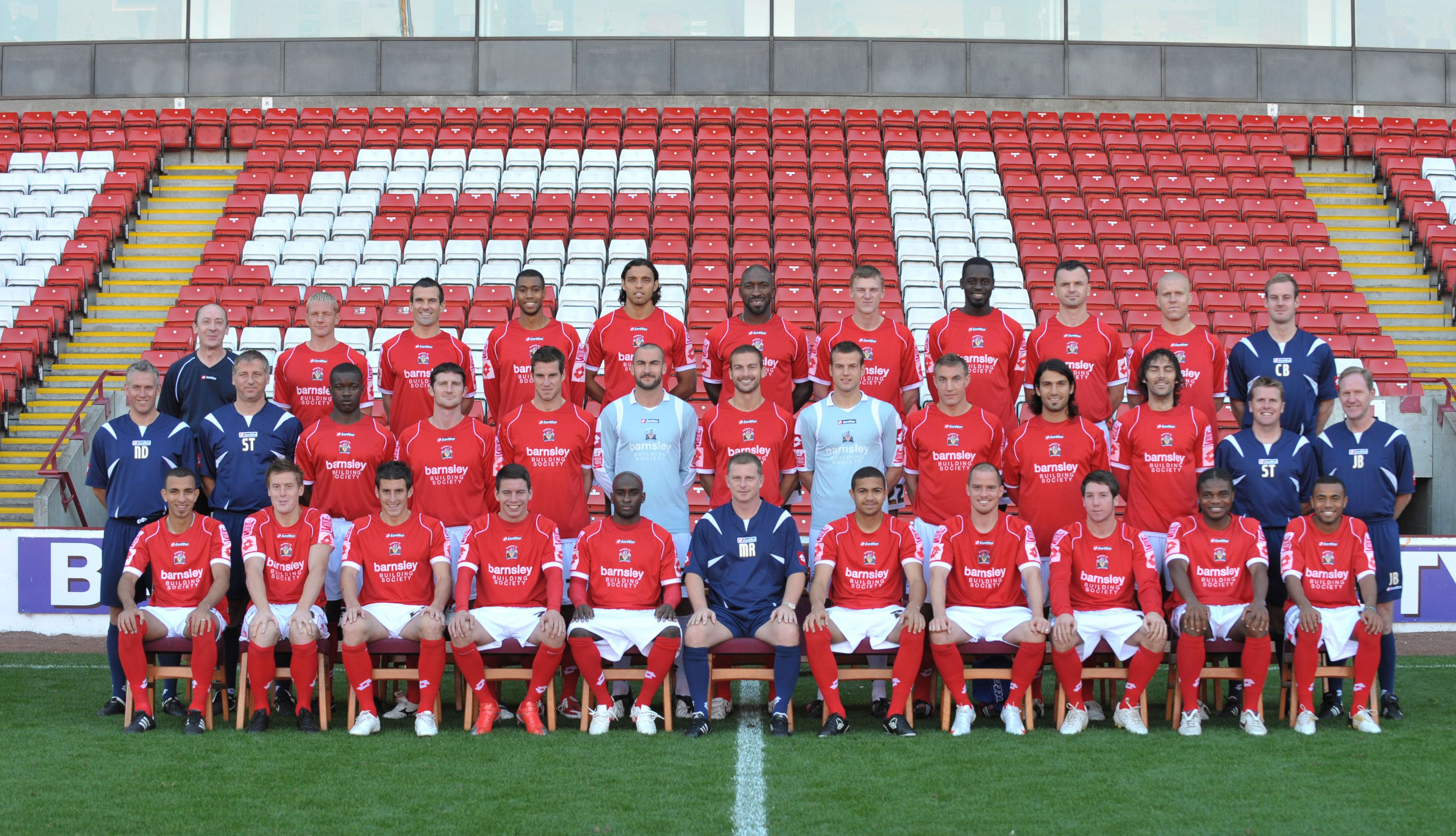 Pin on Barnsley FC Team photos throughout the years