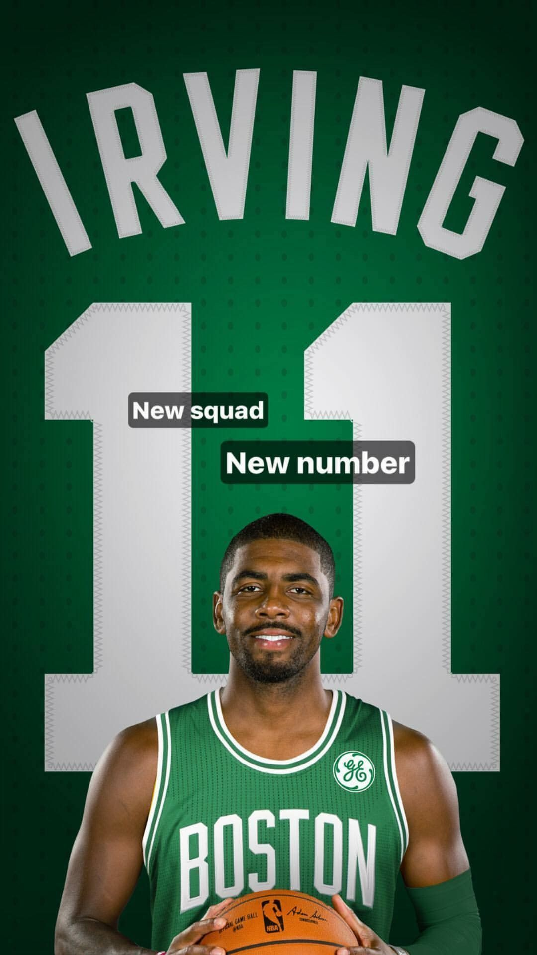 Kyrie Irving new number 11