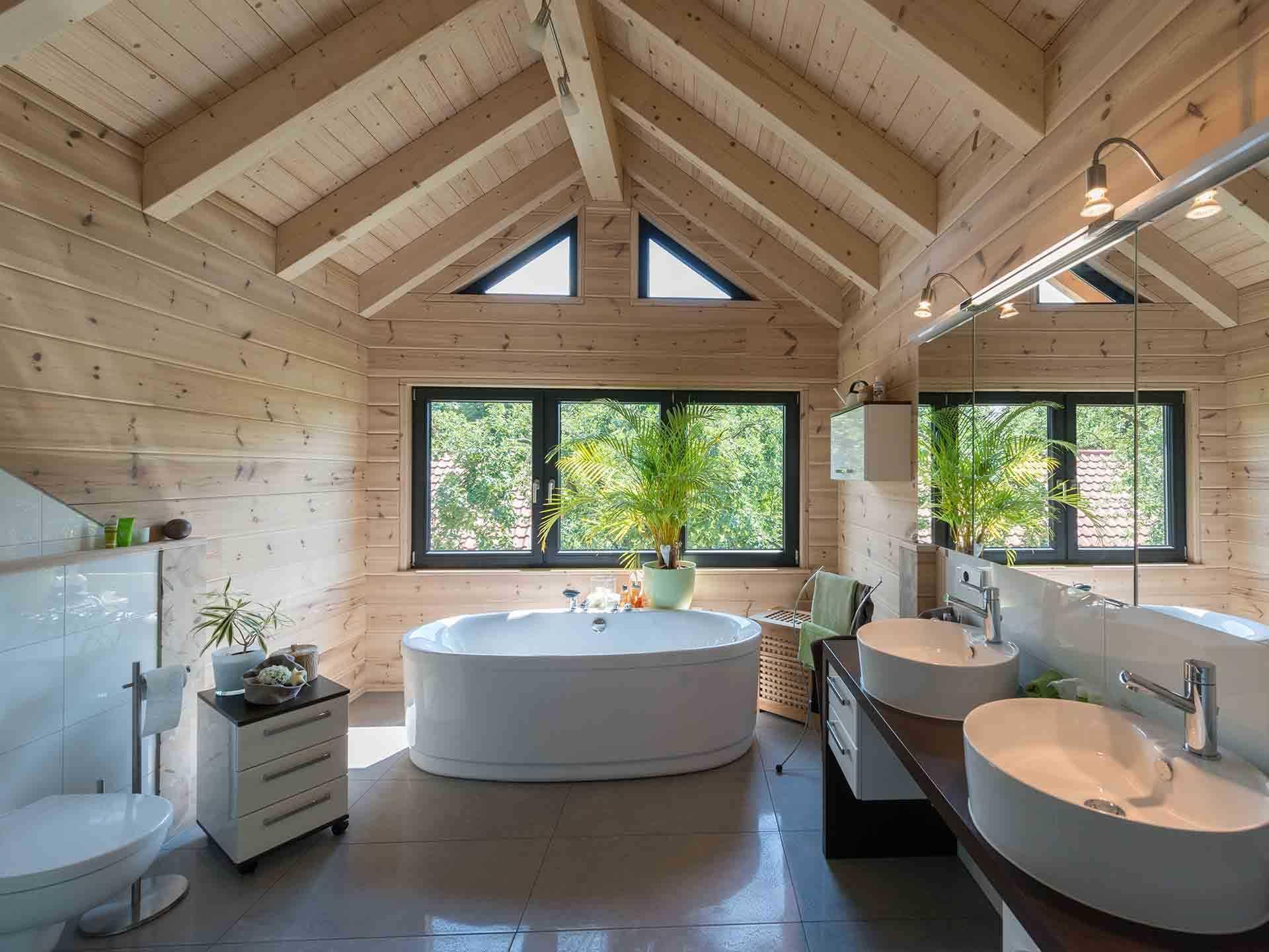 ▷ Holzhaus Mittelfranken - Fullwood Wohnblockhaus