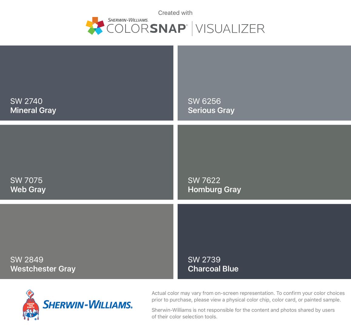 Exterior House Color Visualizer Free: I Found These Colors With ColorSnap® Visualizer For IPhone