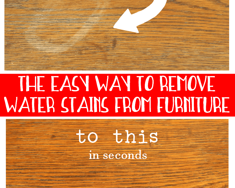How To Remove Water Stains From Wood Remove Water Stains