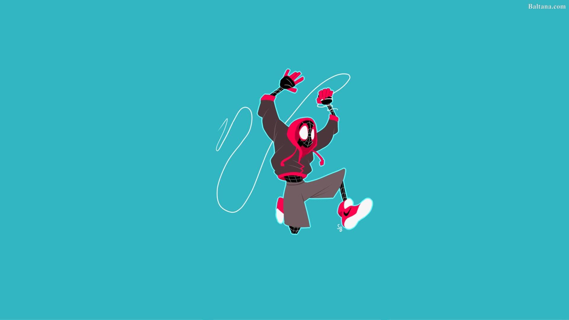 Spiderman Into The Spider Verse Desktop Wallpaper 29944 Spider
