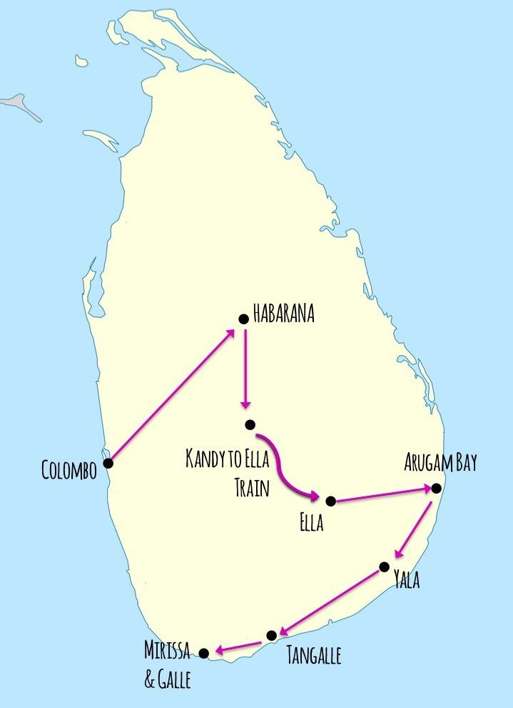 3 Week Sri Lanka Itinerary
