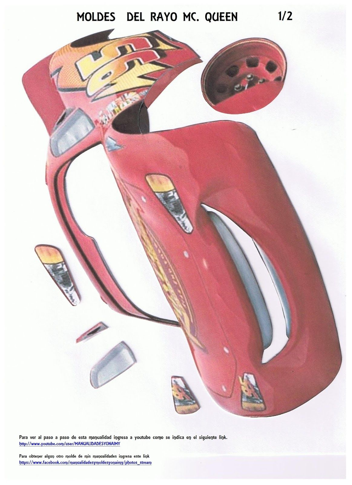 MANUALIDADES YONAIMY | foamy | Pinterest | Rayo mcqueen, McQueen y Rayo