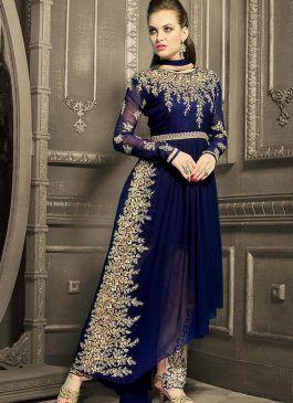 7fe06e1c2a3 Latest   Trendy Pakistani Party Wear Dresses 2017-18