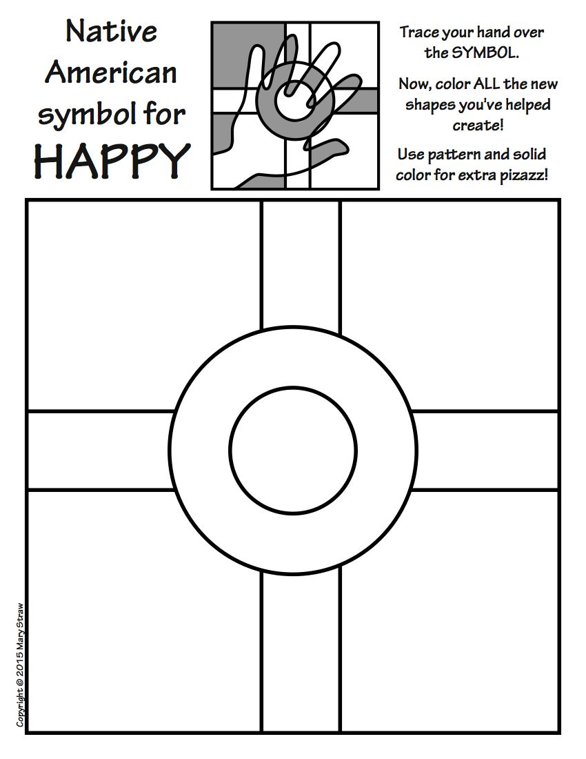 Art enrichment everyday november activity coloring pages american 20 activities your kids will love native americans native american symbols art and buycottarizona Gallery