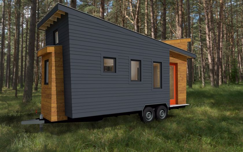 Living in a shoebox     Tiny house plans released for the model STEMNLEAF that offers a spacious floor plan and a modern exterior