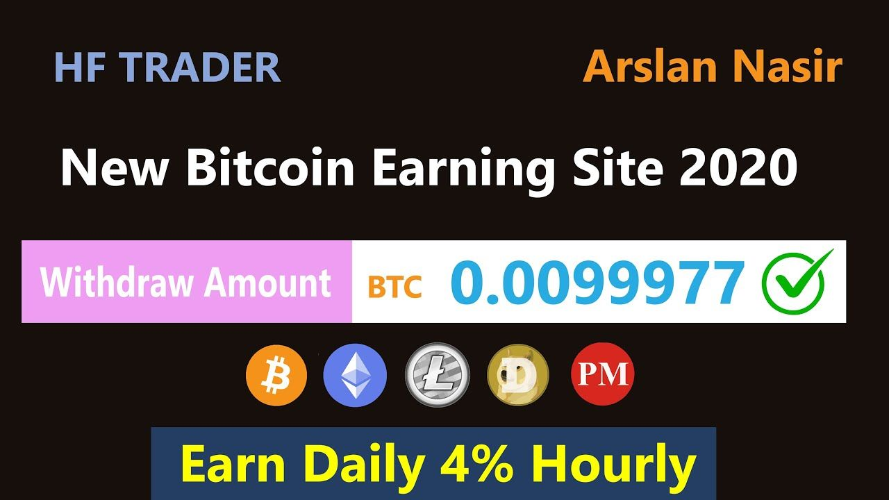 HF Trader - A Fully Automated Service   New Free Bitcoin Mining Site 2020 - Daily Earn 4% Live Proof