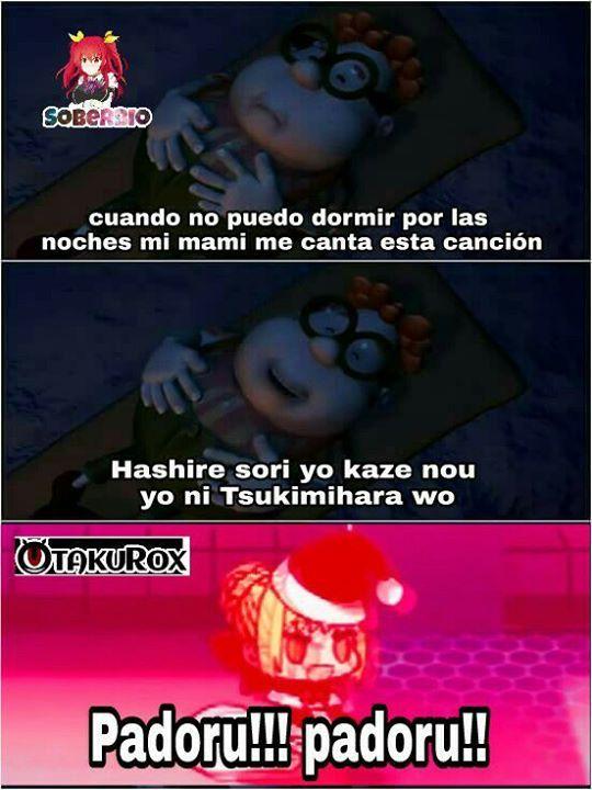 Padoru padoru!!!! Soberbio-sama . anime meme en español ...