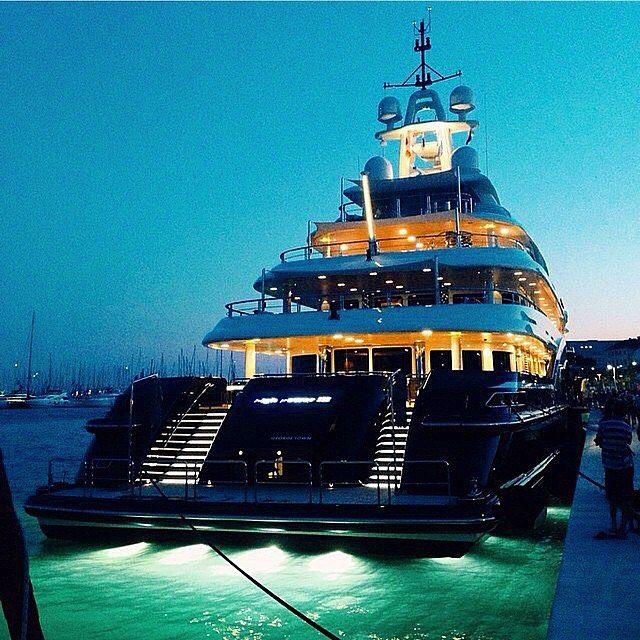 Super Yacht Docked In Split Croatia Www Gala Yachting Com
