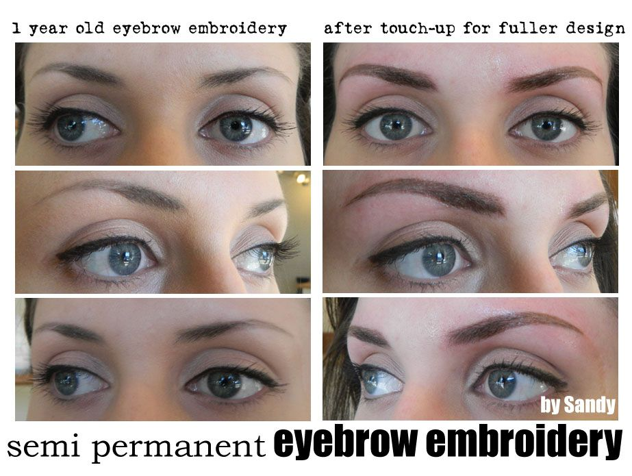 Eyebrow embroidery is a new generation of semi-permanent makeup ...