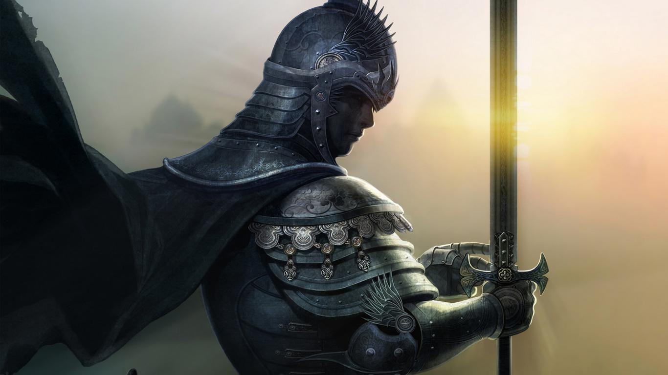 Sailing Boat Fantasy Wallpaper Medieval Knight Knight In Shining Armor Knight