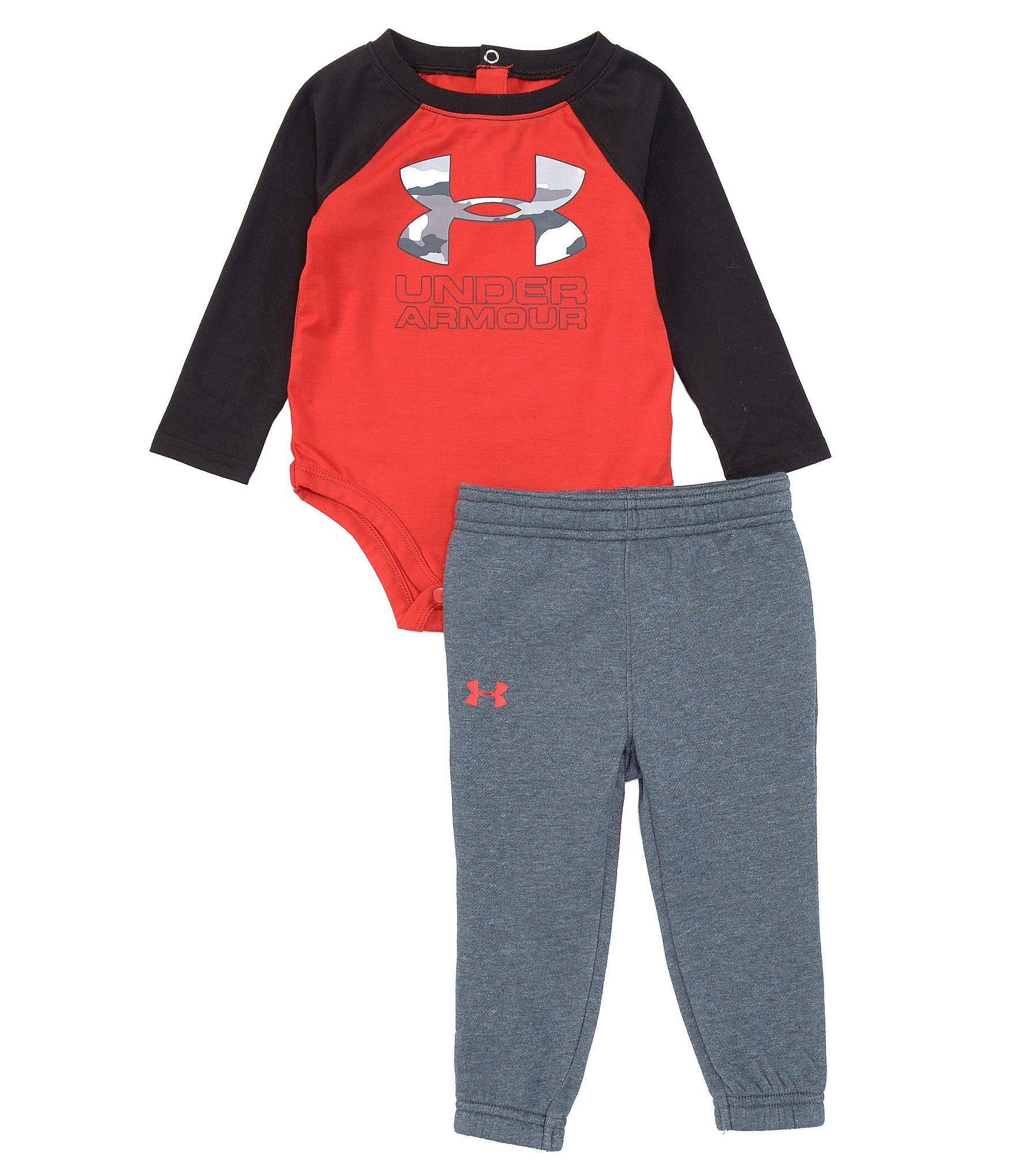 Under Armour Baby Boys Pant and Long Sleeve Set