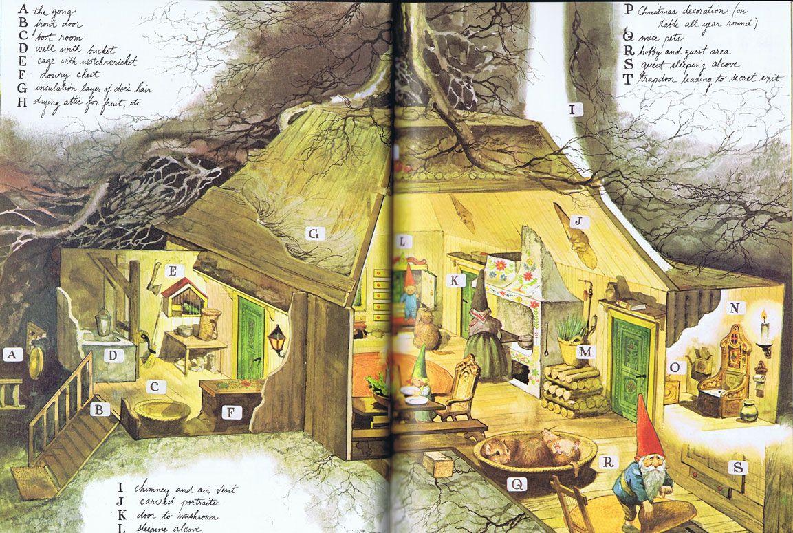 Pin Van Jennifer Doorn Op Rien Poortvliet De Kabouter Poortvliet Kabouter Illustration