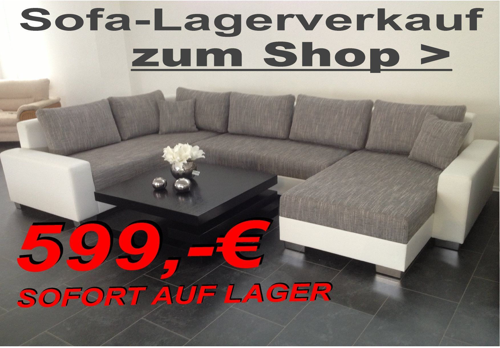 f596f6a96638b6 Möbel günstig kaufen  Sofa lagerverkauf
