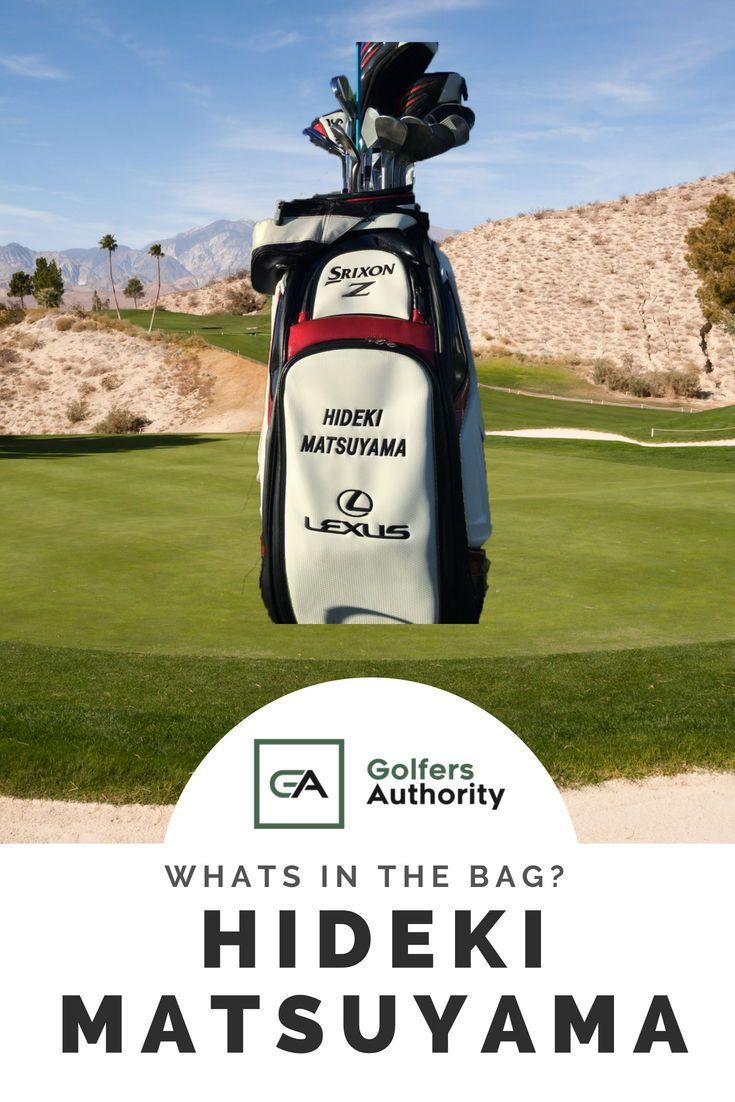 Hideki Matsuyama WITB? (What's in the Bag)   Golf. Matsuyama. Golf bags