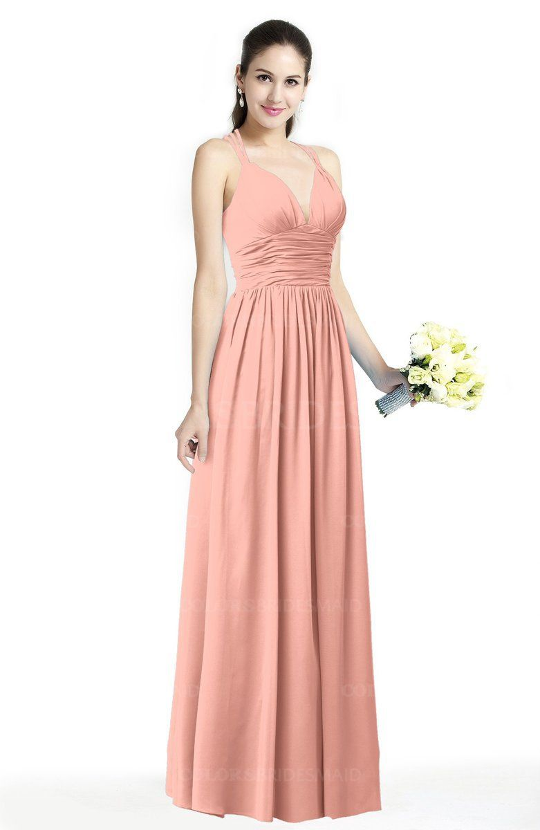 6e938656db9b Cloud White Simple A-line Sleeveless Zipper Chiffon Sash Plus Size  Bridesmaid Dresses
