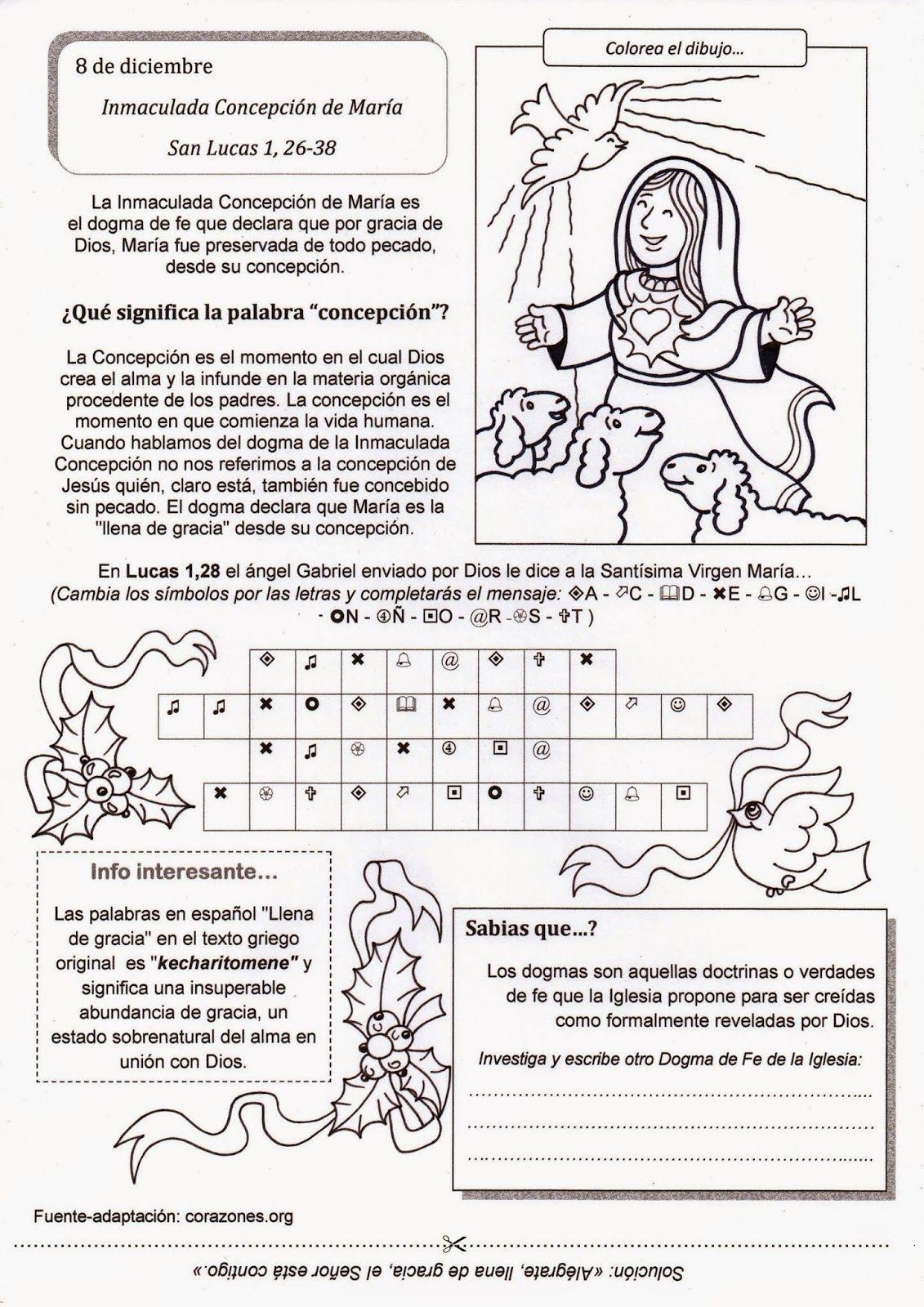 El Rincón de las Melli: Inmaculada Concepción de María ...