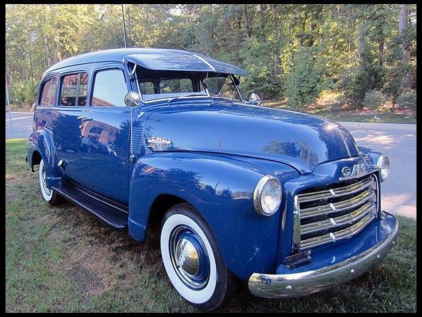 1949 Gmc Suburban 228 Ci 3 Speed Mecum Auctions Classic Cars Chevy Classic Cars Trucks Lifted Chevy Trucks