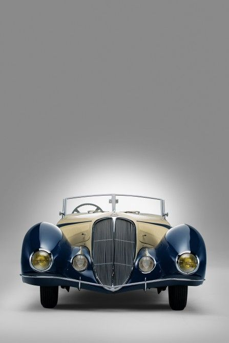 1937 Delahaye 135 Competition Court Torpedo Roadster by Figoni et Falaschi went …