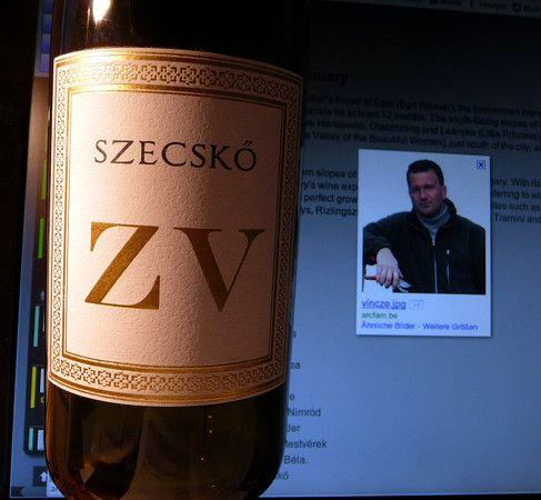 Grüner Veltliner (Zöld veltelini) from Szecskő Tamás, Mátra Hungary