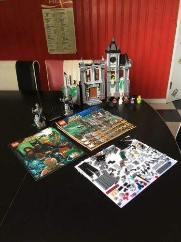 Lego 10937 Super Heroes Arkham Asylum Breakout Set Dc Batman With