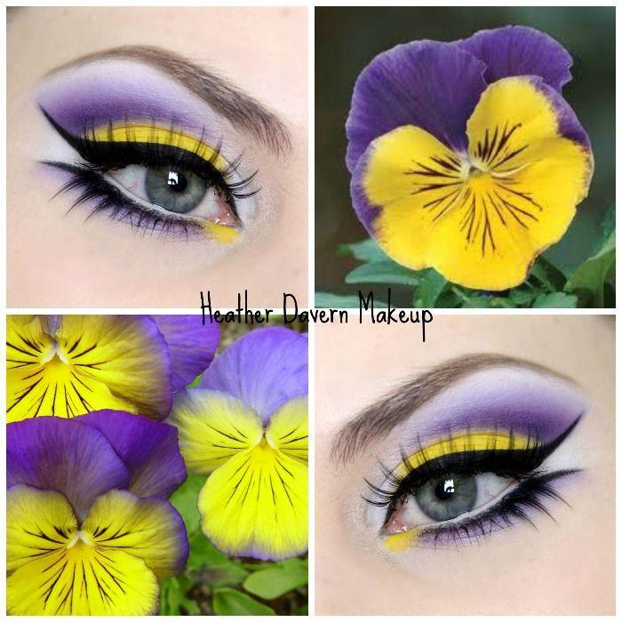 Pansy Flower Inspired