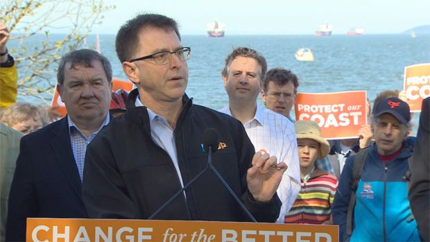 B.C. NDP call on Liberals to state pipeline stance