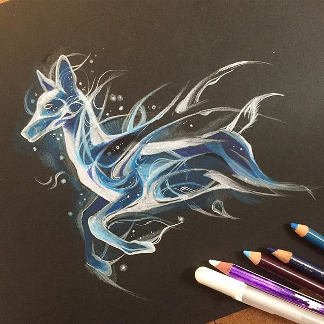 harry potter patronus would make a beautiful tattoo
